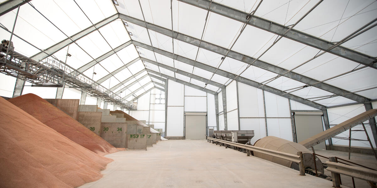 Agriland-Woodbine - Tension Fabric Buildings for Bulk Commodity - Legacy