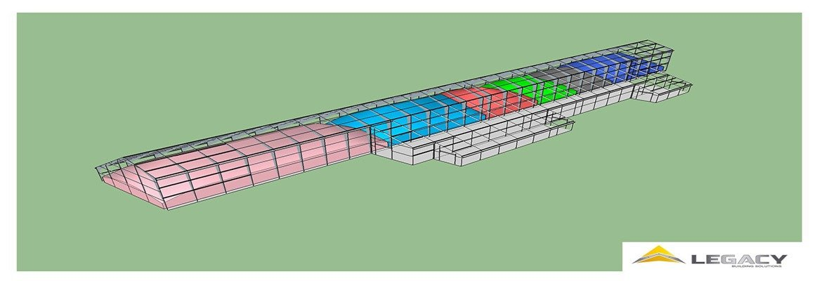 IEI Barge Rendition 2 - Legacy Building Solutions - Tension Fabric Structure