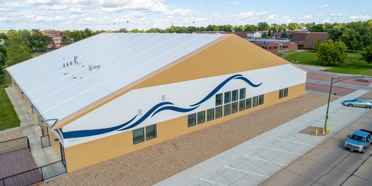 Chadron Aquatic Center - Legacy Building Solutions Tension Fabric Buildings