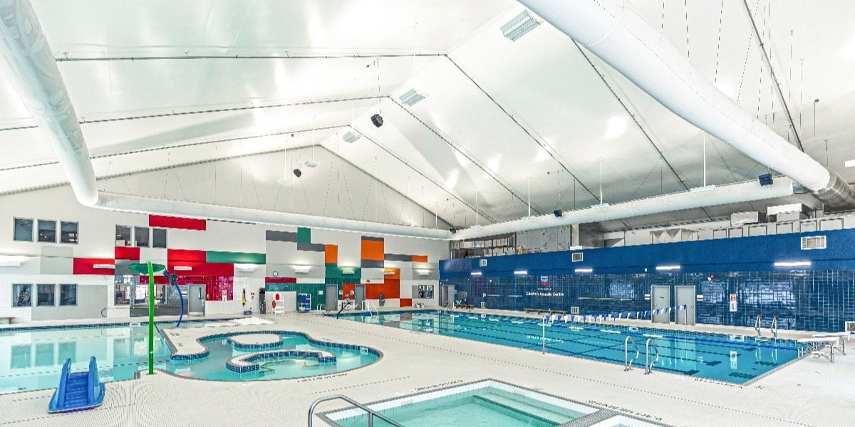 Fox Creek Sports Multiplex Legacy Building Solutions Project - Pool Area