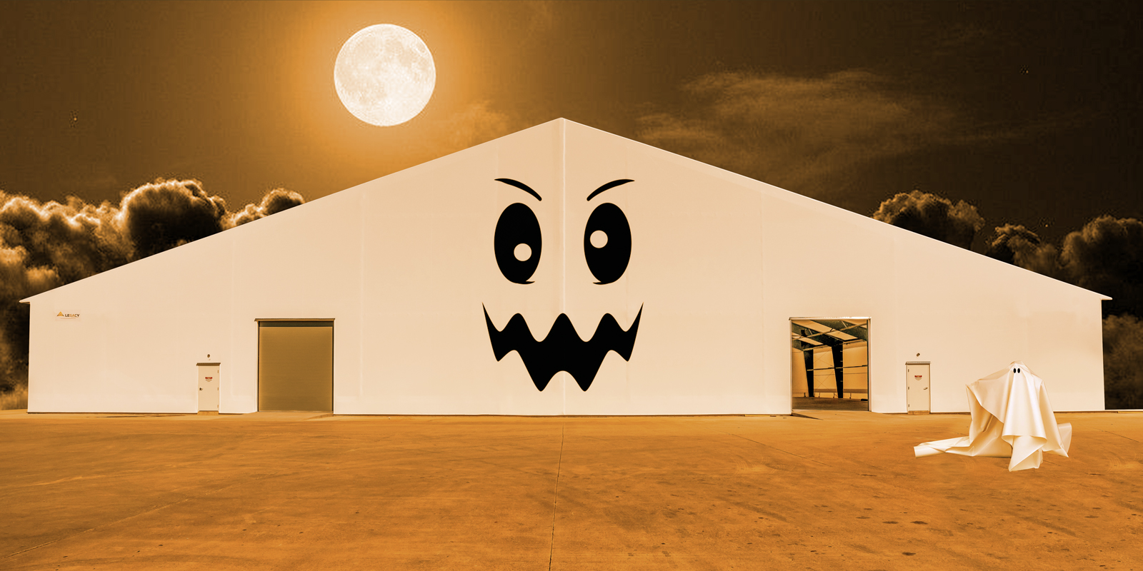 Tension Fabric Structures: Ghost Stories